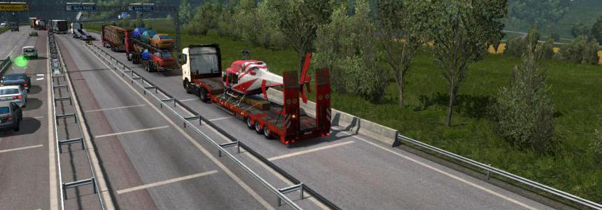 SCS semitrailers in traffic 1.35
