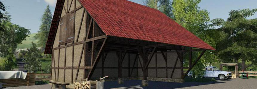 Timberframe Barn With Attic v1.0.0.0