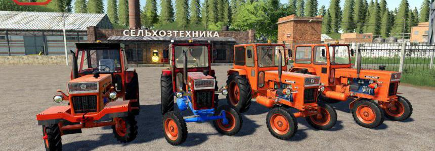 Universal UTB Old Romanian Pack Tractors v1.0
