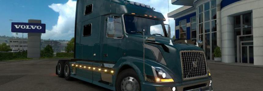 Volvo VNL SCS FOR ETS2 v1 2 1 35 x - Modhub us
