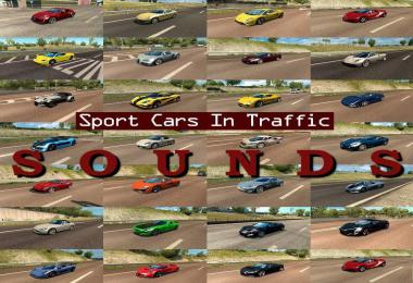 Sounds for Sport Cars Traffic Pack by TrafficManiac ATS v3.9