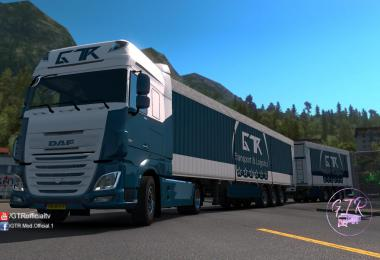 Skin Pack Transport & Logistics for DAF XF Euro 6 1.35.x