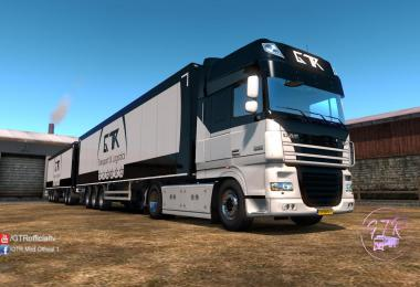 Skin Pack Transport & Logistics for DAF XF 105 1.35.x