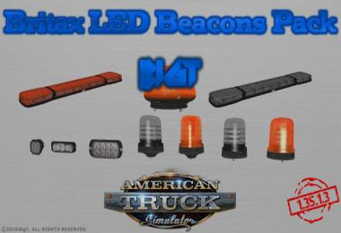 BigT Britax LED Beacons Pack [UPD:26.06.19] 1.35.x