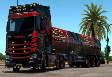 Can Tanker Trailer Ownable ETS2 + Template + Skins v1.0
