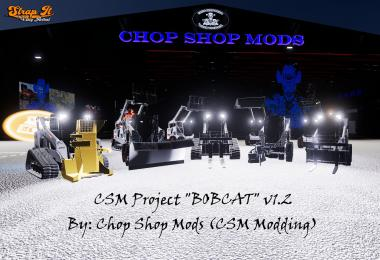 CSM Bobcat 590 Series Skid Steer Pack v1.2.0