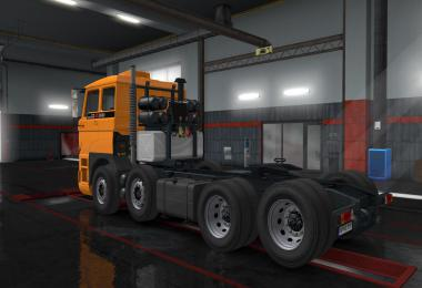 DAF F241 series by XBS v1.2 1.35.x