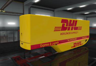 DHL MB Aerodynamic Trailer skin 1.35