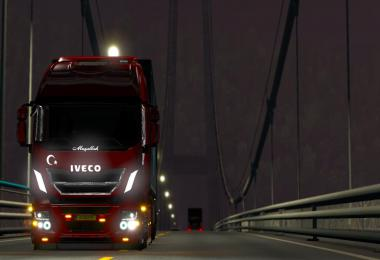 ETS2 IVECO MODIFIED v2 1.35.x