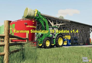 Farming Simulator 19 Update v1.4