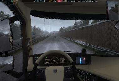 Heavy Rain v2.2 For ETS2 1.34/1.35