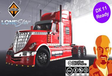 INTERNATIONAL LONESTAR REWORKED DX11 ATS 1.35.x