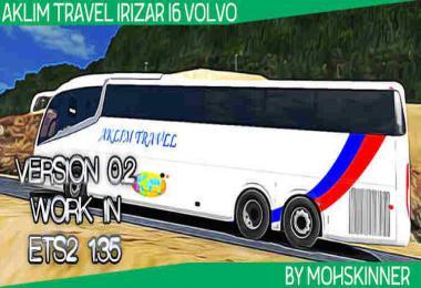 Irizar i6 - Skin Aklim Travel - ETS2 1.34 & 1.35