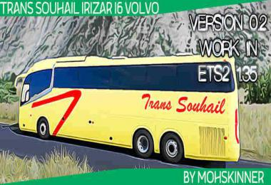 Irizar i6 - Skin Souhail Transport - ETS2 1.34 & 1.35