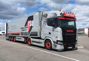 Jens Bode Combo Skin made for Scania S & Krone Cooliner v1.0