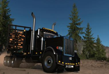 JF Logging Lifted Viper2 Peterbilt 389 ADDON v1.0