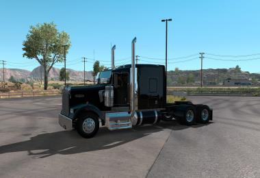 Kenworth w900l flattop and studio 1.35