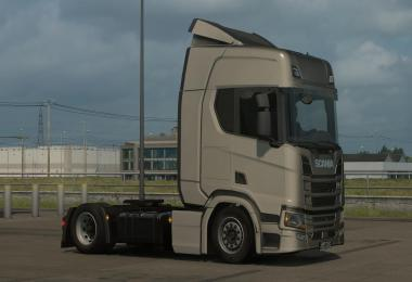 Low deck chassis addon for Scania Nextgen S, R & P v1.8
