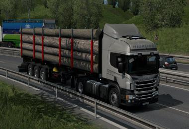 Low deck chassis for Scania R&S, R4, RJL & Scania P&G v1.4