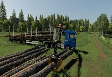 MAN TGX Forest Semitrailer Pack v1.0.0.0