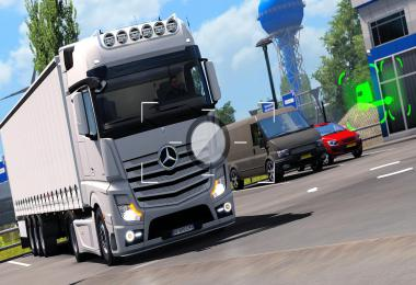 Mercedes Benz Actros MP4 Modified v2.0