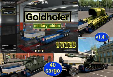 Military Addon for Ownable Trailer Goldhofer v1.4.1