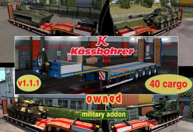 Military Addon for Ownable Trailer Kassbohrer LB4E v1.1.1