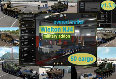 Military Addon for Ownable Trailer Wielton NJ4 v1.5.1