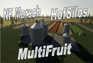 Multifruit silo with extension v4.0