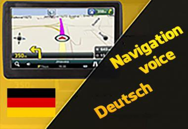 Navigation Voice in German by R.K.M 1.35.x