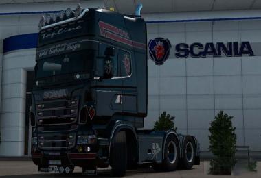Night Wolf Scania v1.0