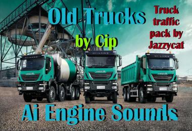 Old Trucks AI Engine Sounds for Jazzycat Truck Pack v3.5.2