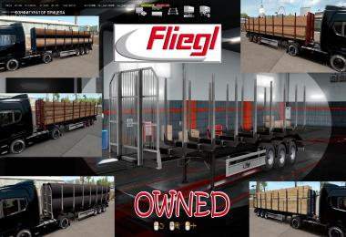 Ownable log trailer Fliegl  v1.0.1