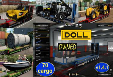 Ownable overweight trailer Doll Panther v1.4.1