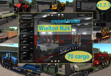 Ownable overweight trailer Wielton NJ4 v1.7.1