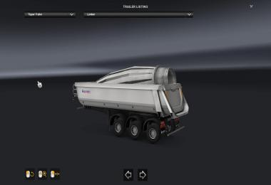 Ownershıp Tipper + Mixer Trailer For Multiplayer v1.0