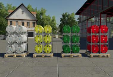 Pallets With Barrels v1.0.0.0