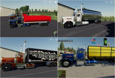 Peterbilt Trucks Pack v1.0.0.0