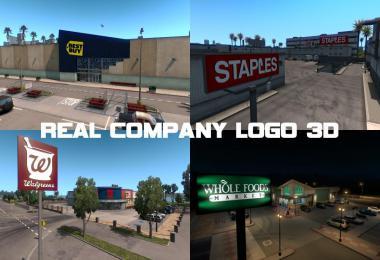 Real Company Logo 3D V1.5