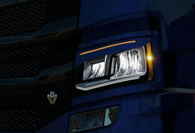 Scania S/R – LED Trucklight 1.35.x
