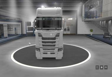 Scania Trucks Galss Sticker v1.0