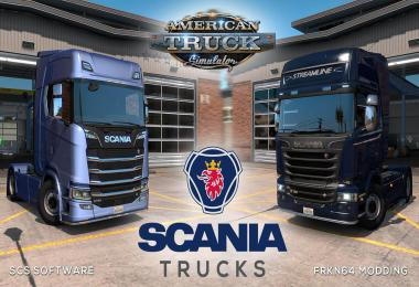 Scania Trucks Mod v2.1 – by Frkn64