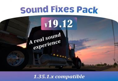 Sound Fixes Pack v19.12  1.35.1