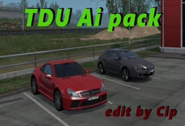 TDU2 traffic pack 1.35 edit by Cip