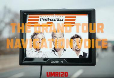 The Grand Tour Navigation Voice 1.35.x