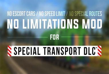 Unlimited for special vehicles v1.0