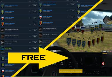 Use ETS2 Items Free 1.35.x