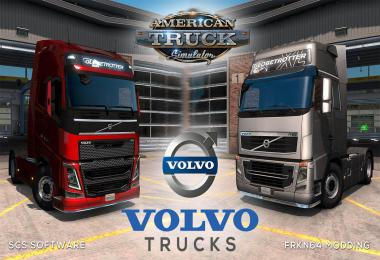 Volvo FH16 Trucks Mod v4.1 – by Frkn64