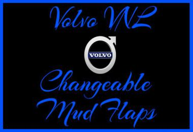 Volvo VNL Changeable Mud Flaps v1.0 1.35.x