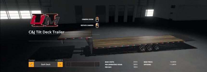 C&J Tiltdeck Trailer v1.1